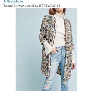 NWT ETT:TWA ANTHRO jacket